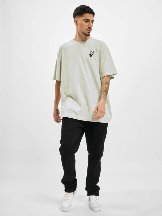 Off-White t-shirt Agreement grijs