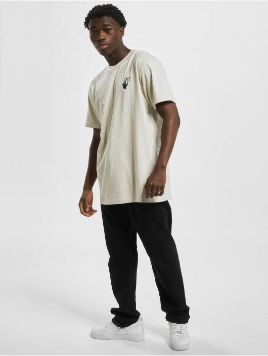 Off-White t-shirt Agreement S/S grijs