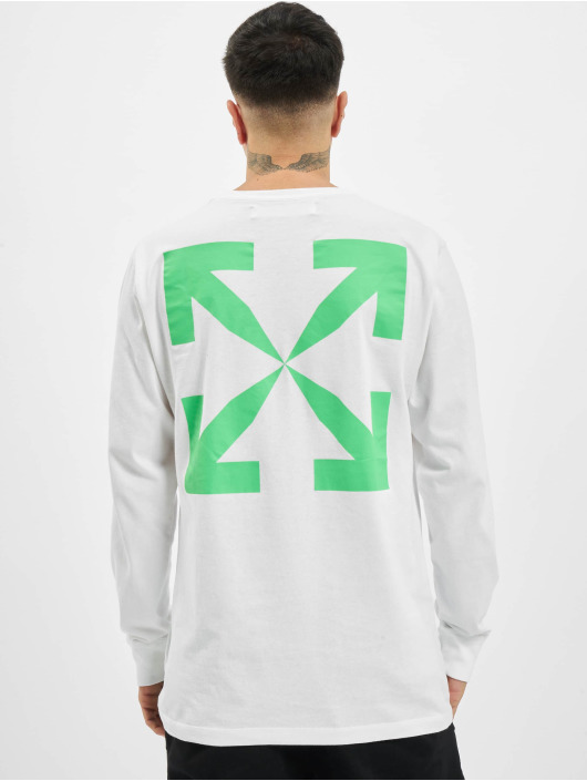 Off-White T-Shirt manches longues Pascal blanc