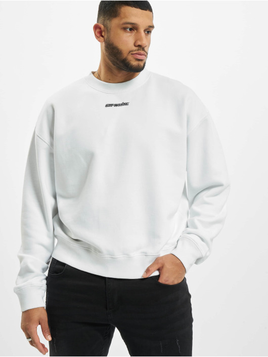 Off-White T-Shirt manches longues Crew Marker blanc