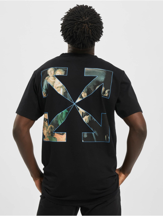 Off-White T-shirt Carvag Painting S/S nero