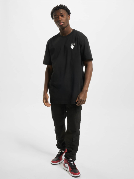 Off-White T-shirt Agreement S/S nero