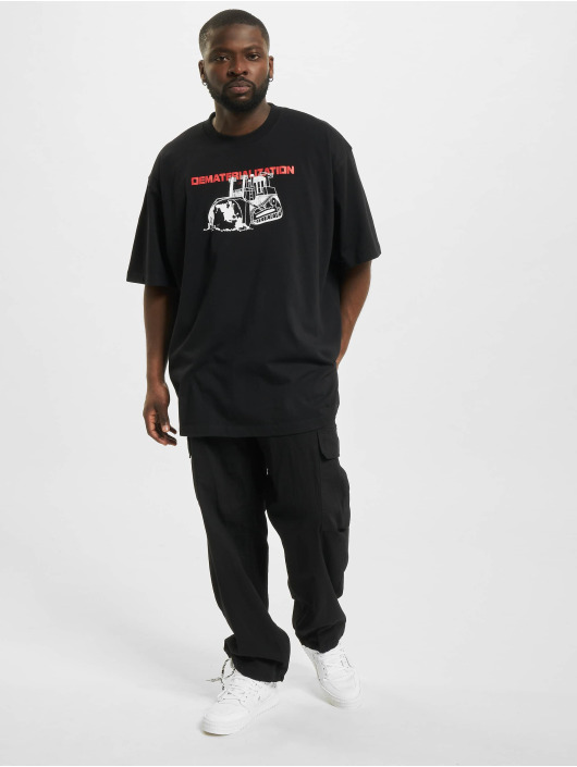 Off-White T-shirt Dematerial nero