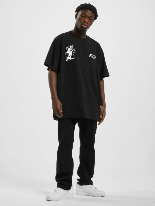 Off-White T-Shirt Kiss 21 S/S noir