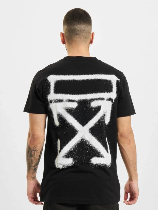 Off-White T-Shirt Spray Marker noir