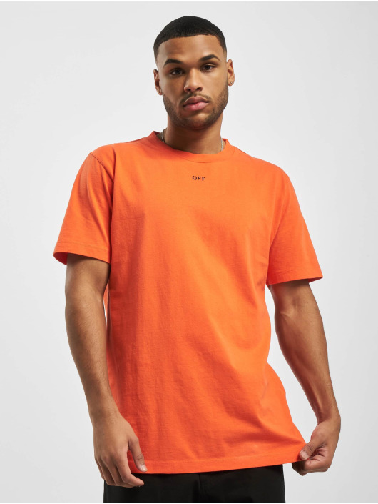 Off-White T-Shirt Stencil S/S orange