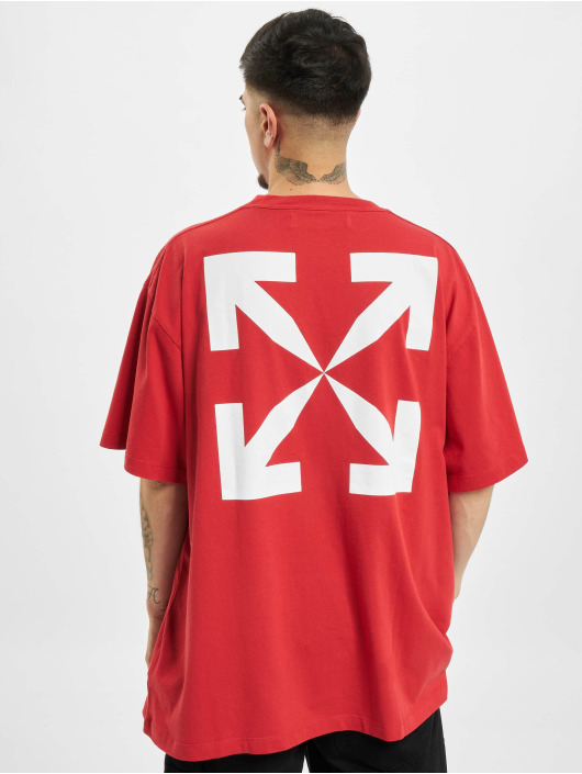 Off-White t-shirt Pascal Print rood