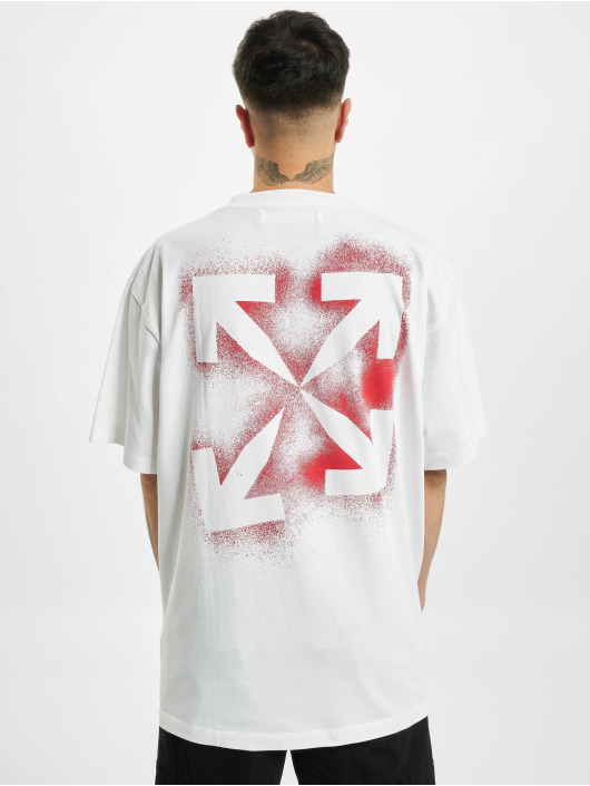 Off-White T-Shirt Stancil Over rot