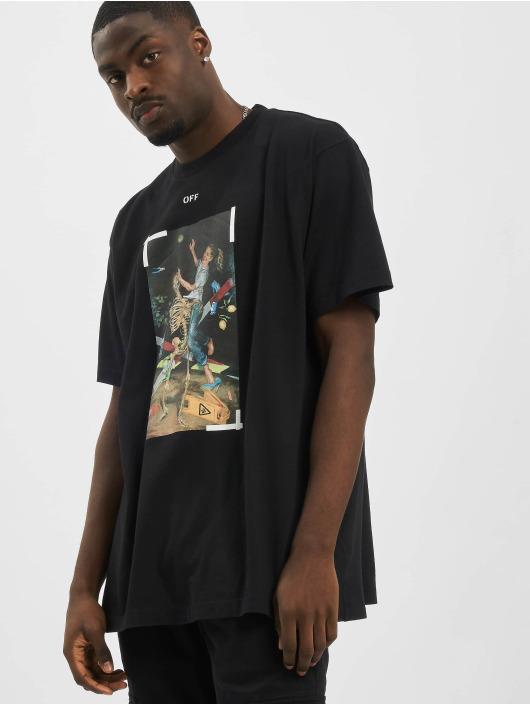 Off-White T-Shirt Pascal Print schwarz