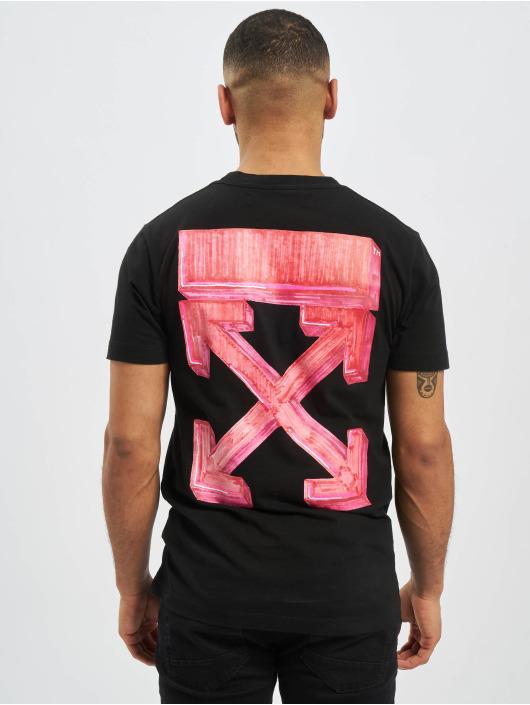 Off-White T-Shirt Marker S/S Over schwarz