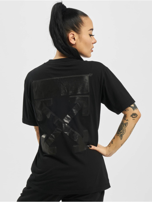 Off-White T-Shirt Arrow Casual schwarz