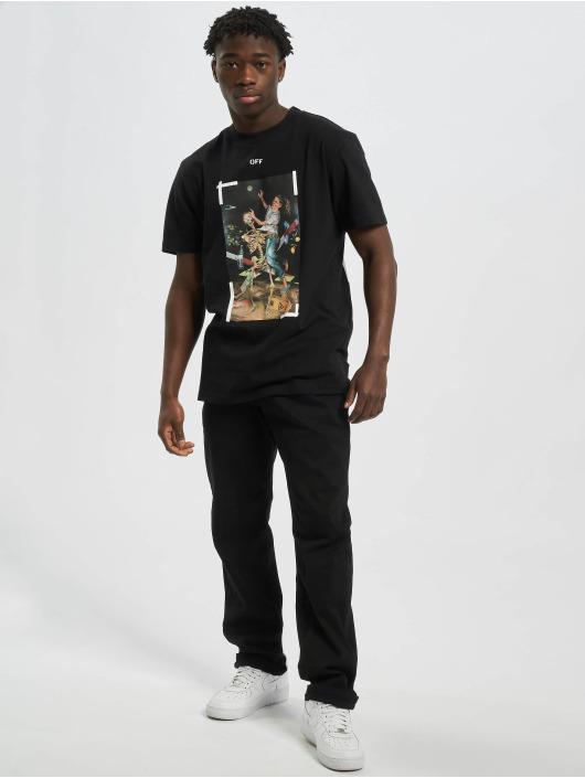 Off-White T-Shirt Pascal Print S/S schwarz