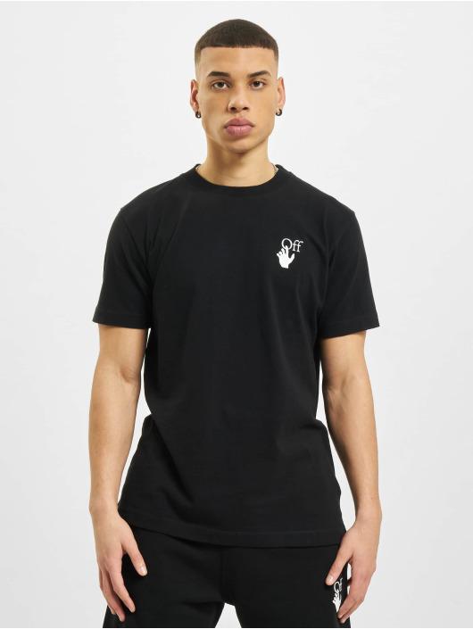 Off-White T-Shirt Marker schwarz
