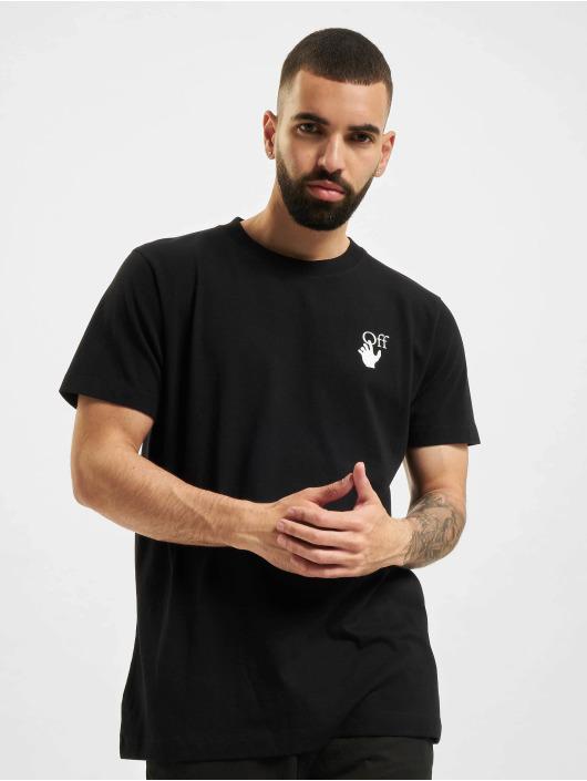 Off-White T-Shirt Spray Marker schwarz