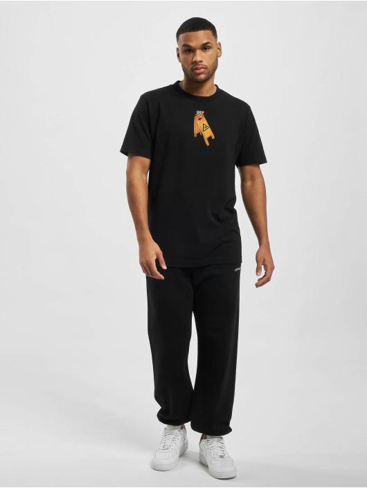Off-White T-shirt Pascal Skeleton svart