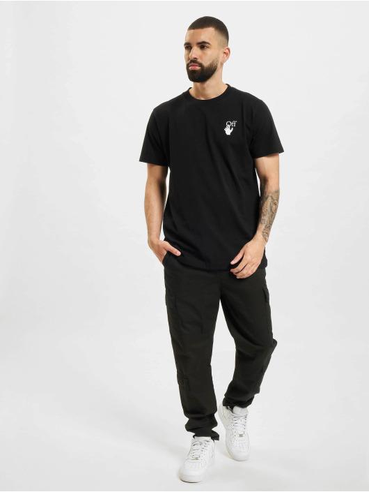 Off-White T-shirt Spray Marker svart
