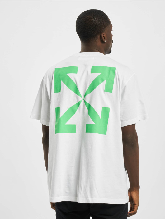 Off-White T-Shirt Pascal Print vert