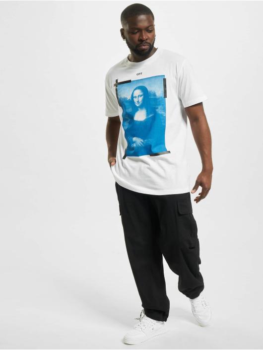 Off-White T-shirt Monalisa vit