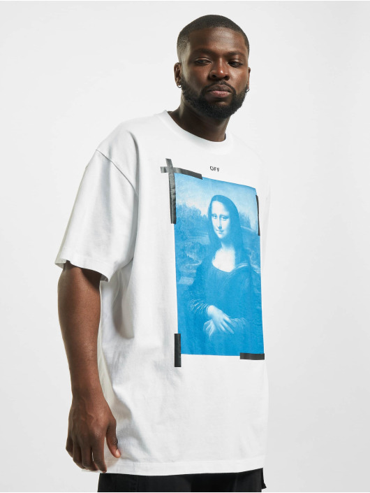 Off-White T-shirt Monalisa vit