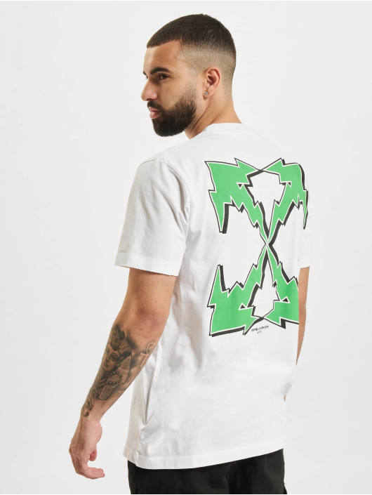 Off-White T-shirt Bolt Arrow S/S Slim vit
