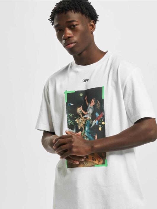 Off-White T-Shirt Pascal Print S/S weiß