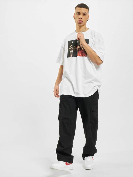 Off-White T-Shirt Caravaggio Over weiß