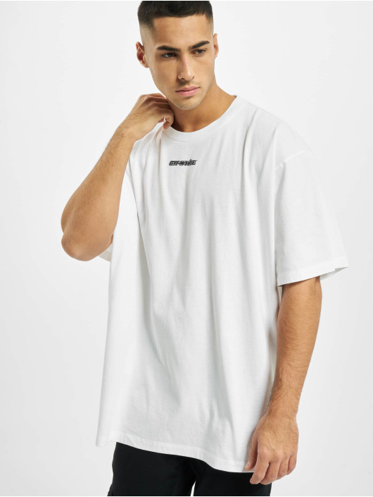 Off-White T-Shirt Marker S/S white