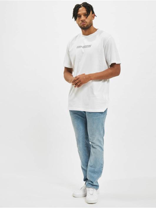 Off-White T-Shirt Logo Print Cotton white