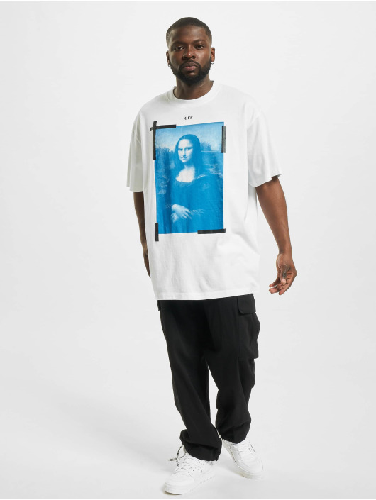 Off-White T-Shirt Monalisa white
