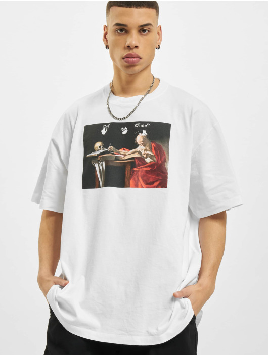 Off-White T-Shirt Caravaggio Over white