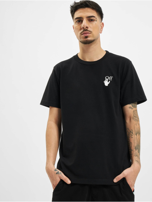 Off-White t-shirt Off zwart
