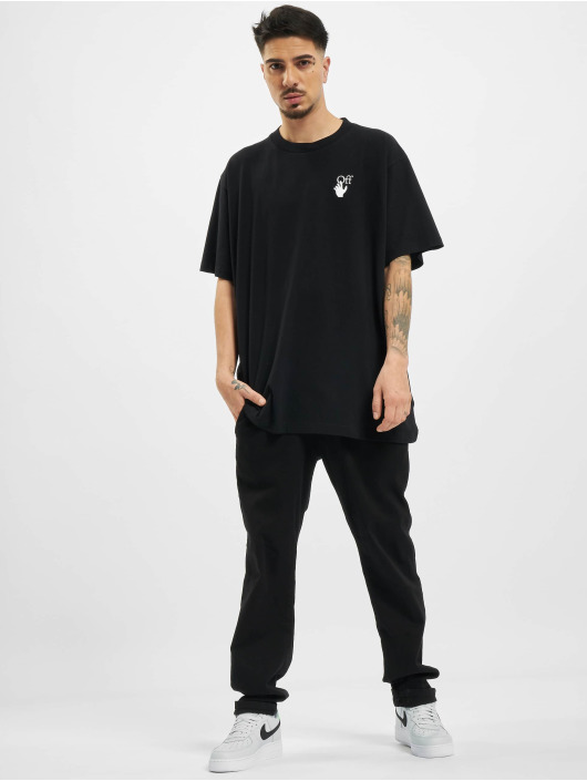 Off-White t-shirt Off zwart