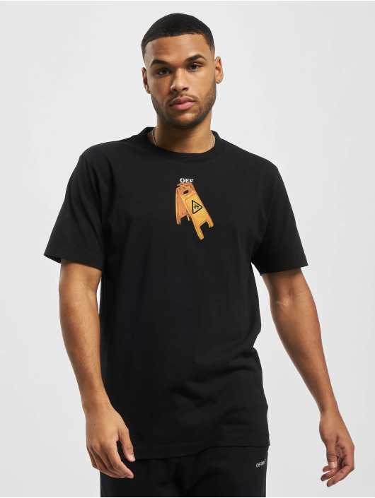 Off-White t-shirt Pascal Skeleton zwart
