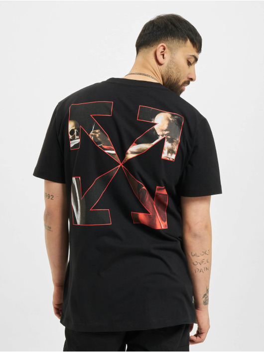 Off-White t-shirt Caravaggio Slim zwart