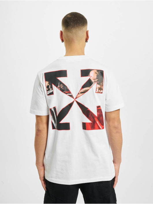 Off-White T-shirts Caravaggio Slim hvid