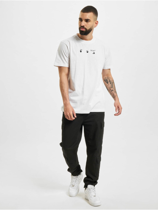 Off-White T-shirts Bolt Arrow S/S Slim hvid