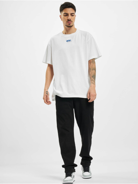 Off-White T-Shirty Mirko First bialy