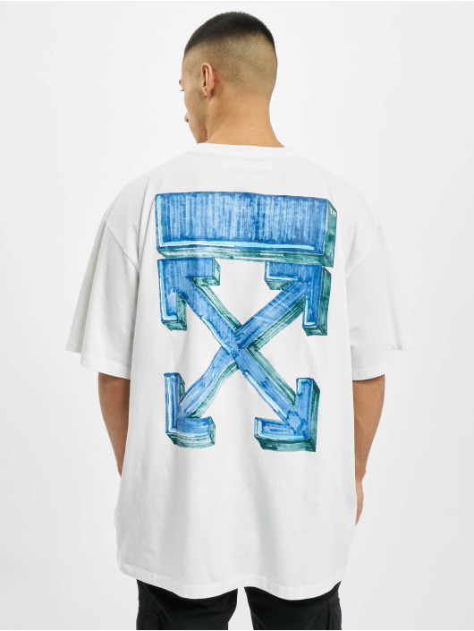 Off-White T-Shirty Marker S/S bialy