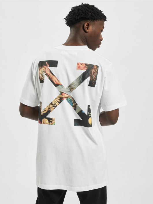 Off-White T-Shirty Off bialy
