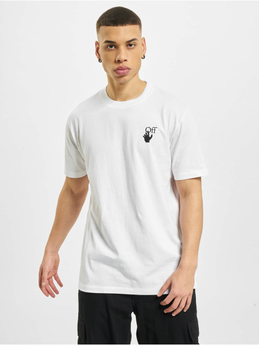 Off-White T-Shirty Marker bialy