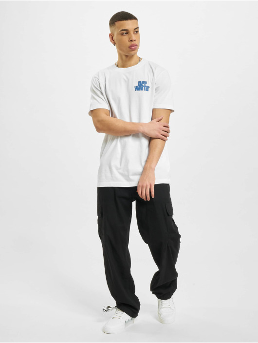 Off-White T-Shirty Hands Arrows bialy
