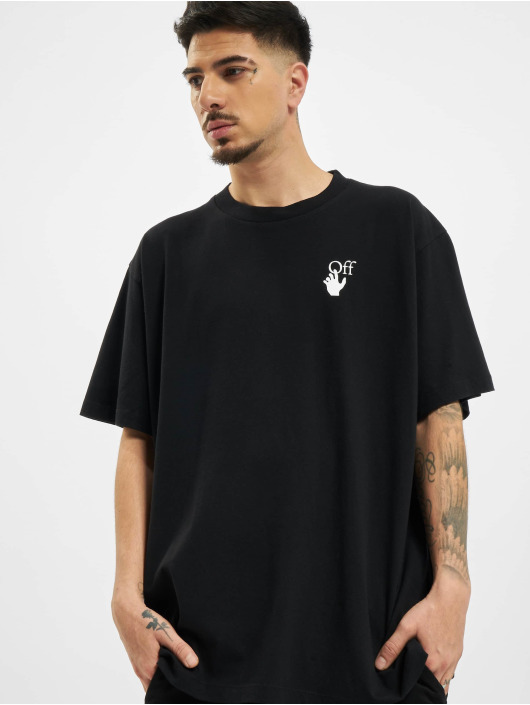 Off-White T-Shirty Off czarny