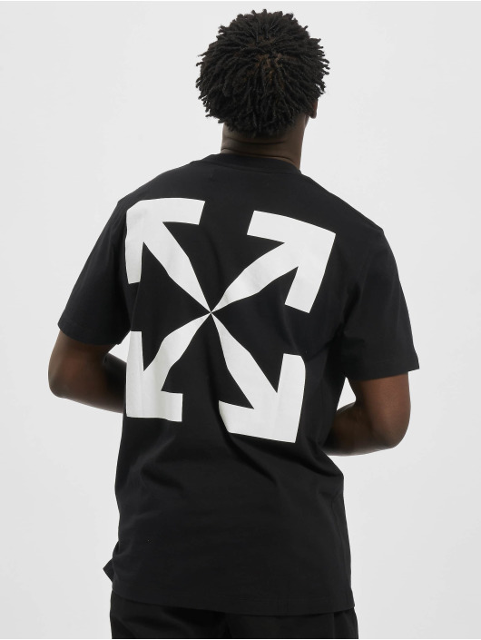 Off-White T-Shirty Pascal Print S/S czarny