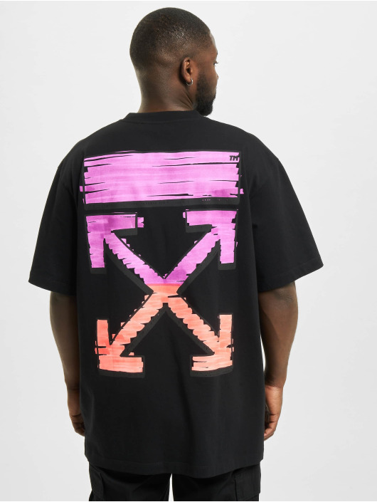 Off-White T-Shirty Marker S/S Over czarny