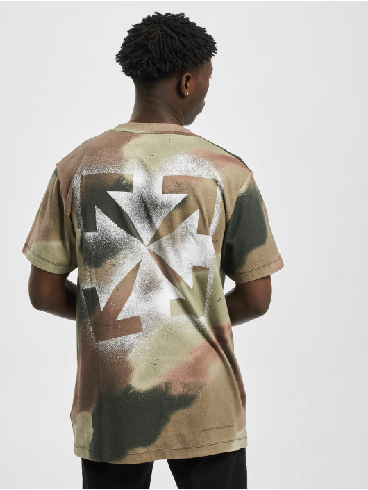 Off-White T-Shirty Stencil moro