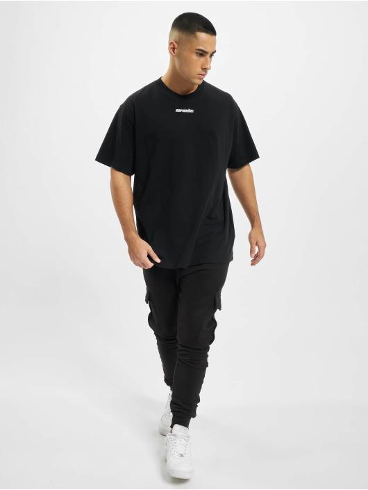 Off-White T-Shirty Marker S/S niebieski