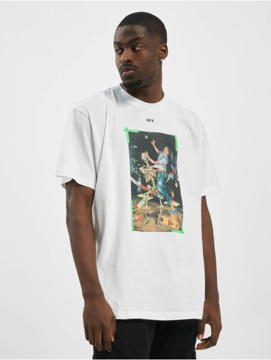 Off-White T-Shirty Pascal Print zielony