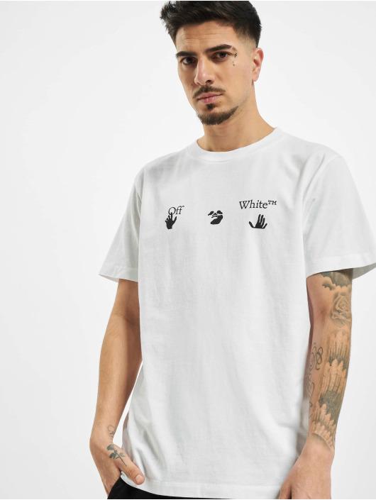 Off-White T-skjorter New Logo hvit