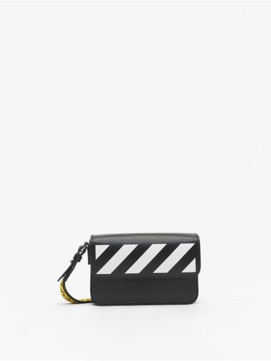 Off-White tas Saffiano Clutch zwart