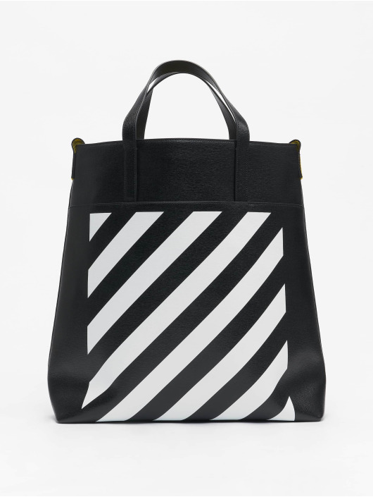 Off-White Torby Leather czarny